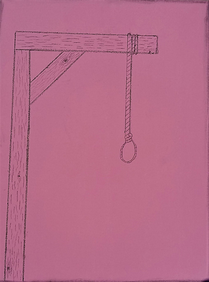 Attempt of a gallows